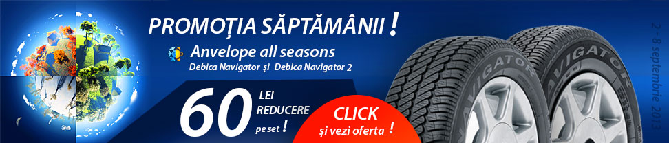 Promotie anvelope all season Debica Navigator