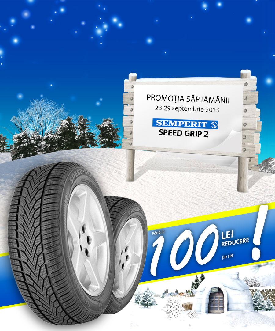 Promotie anvelope de iarna Semperit Speed Grip 2