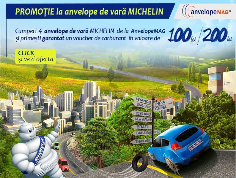 Promotie anvelope de vara Michelin