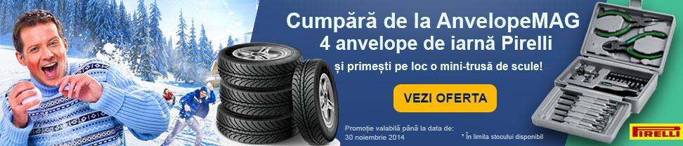 promotie anvelope de iarna pirelli