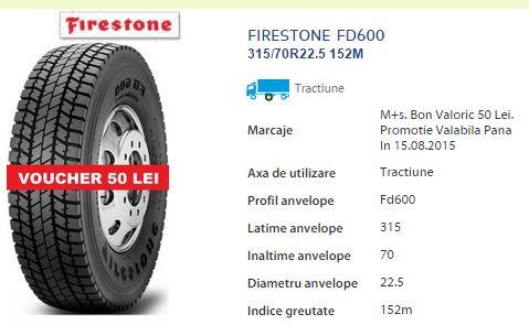 anvelope firestone