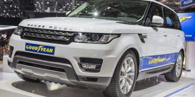Anvelope Goodyear – Echipare originala pe cele mai noi modele Jaguar si Land Rover