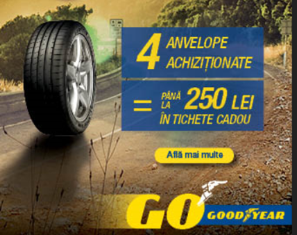 Promotie anvelope Goodyear