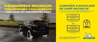 Voucher EMAG anvelope Michelin