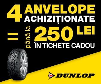 Promotie anvelope Dunlop