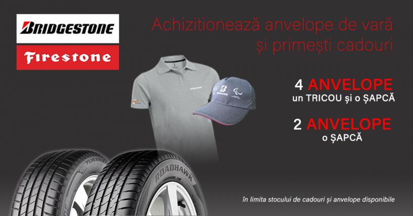 Promotie anvelope vara Bridgestone si Firestone