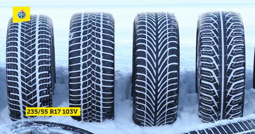 Test 2020 anvelope iarna 235/55 R17 103V - TCS