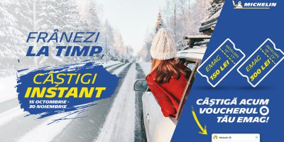 Promotie anvelope Michelin iarna si all season