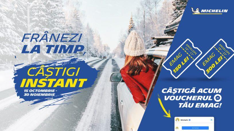 Promotie anvelope Michelin iarna si all season