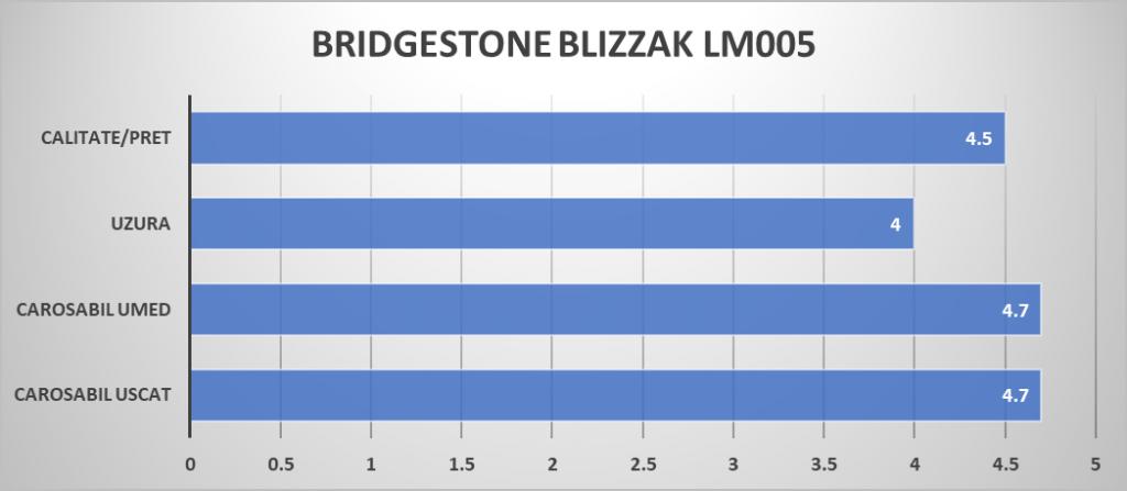 BRIDGESTONE BLIZZAK LM005 raiting mag