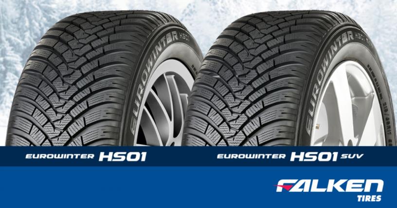 Relansare anvelope iarna Falken Eurowinter HS01 si HS01 SUV