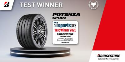 Bridgestone Potenza Sport castiga testul sportiv AUTOBILD 2021