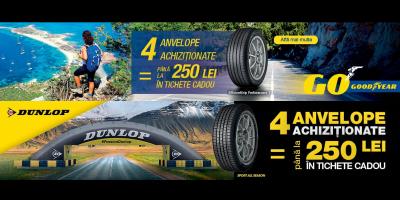 Promotie anvelope vara/all season Goodyear-Dunlop